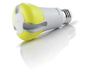 LED bulbs like this prize-winner from Philips face competition from cheaper compact fluorescent lights.