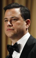 Late-night comic Jimmy Kimmel headlines the White House Correspondents' Association Dinner, Saturday, April 28, 2012 in Washington.