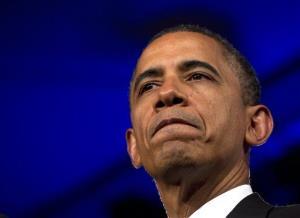 President Obama speaks in Washington earlier this week.