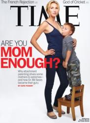 Time's new cover shows Jamie Lynne Grumet breastfeeding her son.