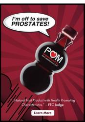 POM Wonderful isn't shy about making health claims.