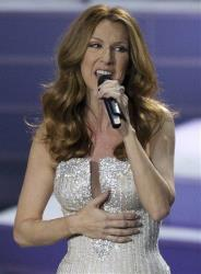 Celine Dion sings the opening number during her opening night at Caesar's Palace, Tuesday, March 15, 2011, in Las Vegas.