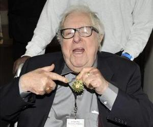Author Ray Bradbury attends the 14th Annual Los Angeles Times Festival of Books on the campus of the University of California Los Angeles on April 25, 2009 in Los Angeles, California.