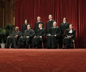 A file photo of the US Supreme Court.