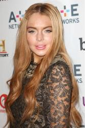 Lindsay Lohan in a May 9 file photo.