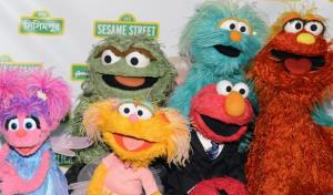Muppets at a Sesame Street benefit gala in this file photo.