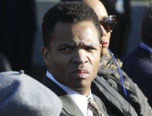 In this Oct. 16, 2011 file photo, Rep. Jesse Jackson, Jr., D-Ill., is  seen during the dedication of the Martin Luther King Jr. Memorial in Washington.