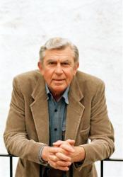 This March 6, 1987 file photo shows actor Andy Griffith in Toluca Lake, Calif.