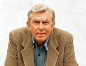 This 1987 file photo shows Andy Griffith in Toluca Lake, Calif.