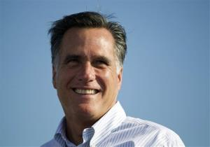 In this June 19, 2012, file photo, Mitt Romney campaigns in Holland, Mich.