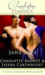 The cover of the Clandestine Classics version of Jane Eyre.