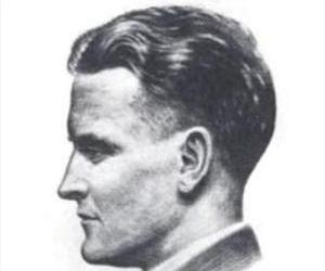 A sketch of F. Scott Fitzgerald by Gordon Bryant, published in 1921.