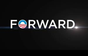 President Obama's 2012 campaign slogan.
