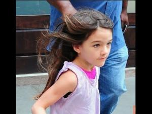 Suri Cruise: Dreaming about first grade?