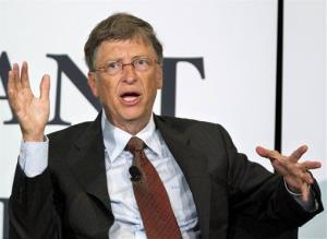 Bill Gates in June, 2012.
