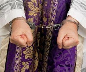 The priest was allegedly wearing a lot less than this on the night of the incident.