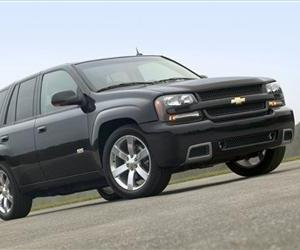 The 2006 Chevy TrailBlazer SS sport utility vehicle is seen in this file photo.
