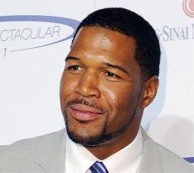 This 2011 file photo shows former NFL football player Michael Strahan.