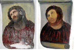 Keen-eyed art experts may be able to spot a few differences.