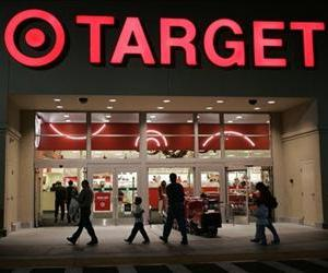 The front entrance of a Target store in Cupertino, Calif. is seen Wednesday, Nov. 7, 2007.
