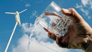 From wind to water: a revolutionary new wind turbine by French company Eole Water.