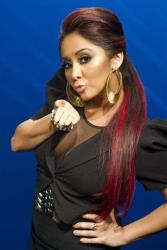 In this photo from Wednesday, Feb. 1, 2012, Nicole Snooki Polizzi poses for a portrait in New York.