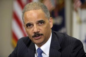 Attorney General Eric Holder speaks in the Cabinet Room of the White House in July.