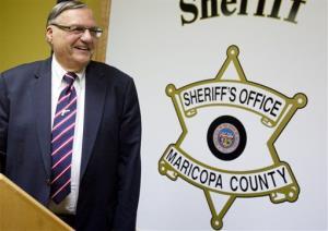 Maricopa County Sheriff Joe Arpaio.