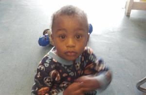 In this Nov. 25, 2011, photo provided by the Columbia S.C., Police Department, 18-month-old Amir Jennings is shown.