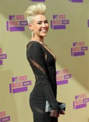 Singer-actress Miley Cyrus attends the MTV Video Music Awards on Thursday, Sept. 6, 2012, in Los Angeles.