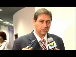 A judge has ordered YouTube to yank videos concerning Campo Grande mayoral candidate Alcides Bernal, seen here.