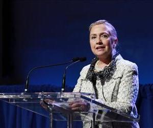 Hillary Clinton speaks at a conference in New York, Sept.  26,  2012.