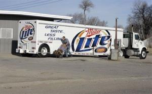 In this 2006 file photo, a shipment of beer is delivered to a store in Whiteclay, Neb.