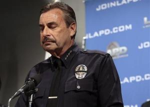 Heavy-handed immigration policy has eroded the public trust, Los Angeles Police Chief Charlie Beck told reporters.