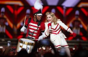 Madonna performs at the United Center on Wednesday, Sept. 19, 2012, in Chicago.