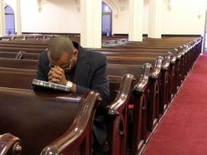 Just 48% of the US is now Protestant, a study says.