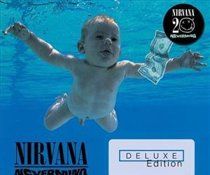 In this box set cover image released by Geffen Records, Nirvana, Nevermind Deluxe Edition, is shown.