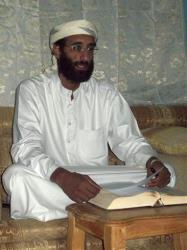 This Oct. 2008 file photo shows Anwar al-Awlaki in Yemen.