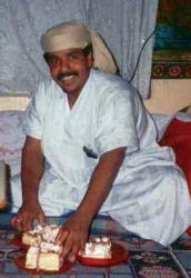 In this undated file photo, Salim Ahmed Hamdan, a former driver for Osama bin Laden, is seen at unknown location.
