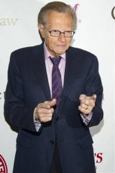 This May 16, 2012 file photo shows Larry King at the Friars Club Roast of Betty White in New York.