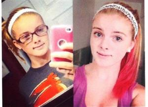 These photos released by the Clayton, N.J. Police Department show  Autumn Pasquale, 12.