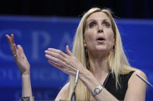 Ann Coulter speaks at the Conservative Political Action Conference (CPAC) in Washington, Saturday, Feb. 12, 2011. The annual gathering of more than 11,000 conservatives marked the unofficial start of the GOP presidential nomination fight.
