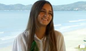 Catarina Migliorini in a frame grab from a promotional video.