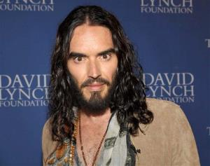 This June 30, 2012 file photo originally released by the David Lynch Foundation shows Russell Brand at David Lynch Foundation:  A Night of Comedy honoring George Shapiro in Beverly Hills, Calif.