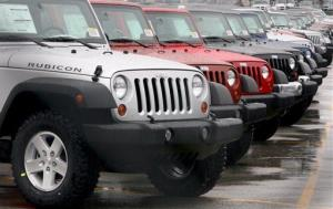 A view of some Jeep Wranglers at  the Toledo plant in this 2009 file photo.