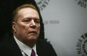 FILE - In this Oct. 26, 2007 file photo, Hustler magazine founder Larry Flynt arrives at the premiere of the documentary 'Larry Flynt: The Right to be Left Alone.'