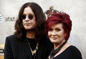 Ozzy Osbourne, left, and Sharon Osbourne arrive at Spike TV Guy's Choice awards in Culver City, Calif., on Saturday, June 5, 2010.