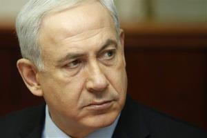 Israeli Prime Minister Benjamin Netanyahu attends a weekly cabinet meeting in Jerusalem Sunday, Nov. 4, 2012.