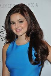 In this Sept. 24, 2012 file photo, Ariel Winter attends the World Premiere of Batman: The Dark Knight Returns Part 1 at The Paley Center for Media, in Beverly Hills, Calif.