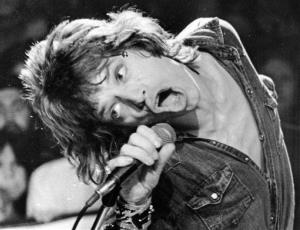 Mick Jagger in 1972.